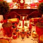 Simple Christmas Table Decorations Nice Look
