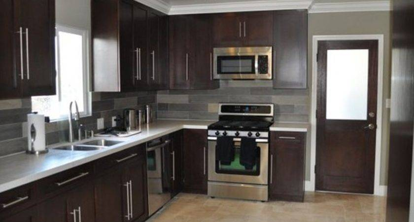 Simple Compact Shaped Kitchen Design Incredible Homes