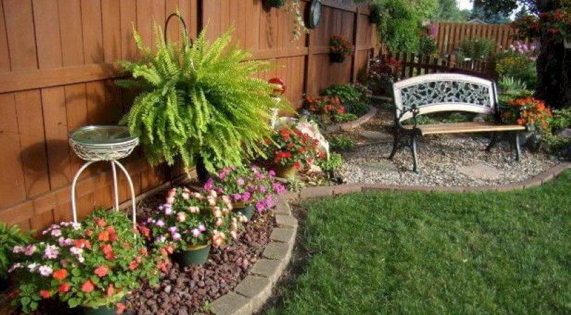 Simple Easy Backyard Landscaping Ideas Wartaku