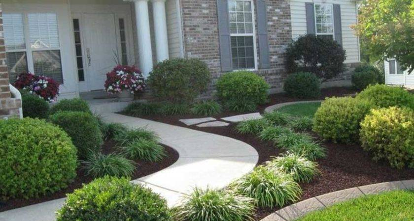 Simple Front Yard Landscaping Ideas Home
