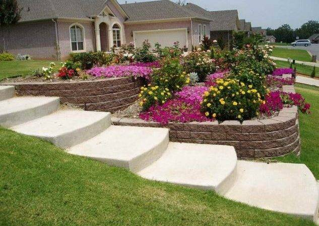 Simple Front Yard Landscaping Ideas Leave
