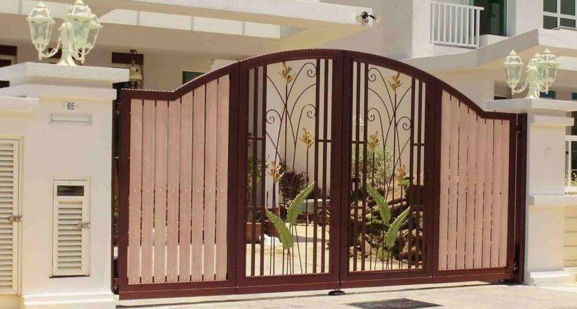 Simple Gate Design Small House Rent Near
