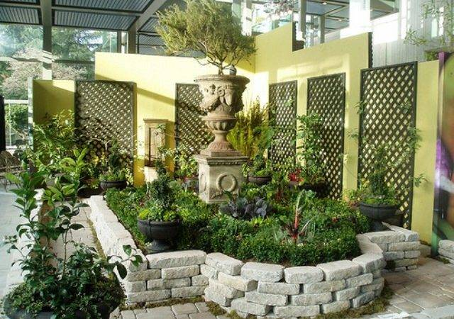 Simple Home Garden Ideas Beautiful Homes Design