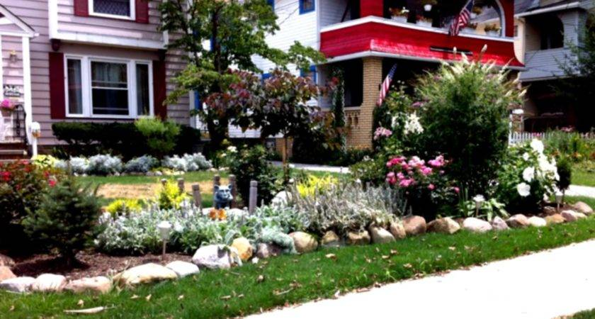 Simple Landscaping Ideas Budget Front