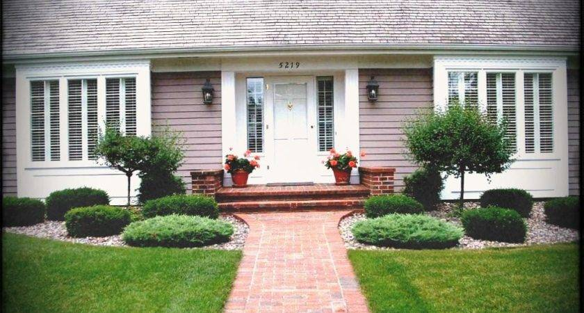 Simple Landscaping Ideas Front Yard Themed Cool