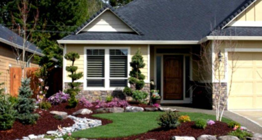Simple Low Cost Front Yard Landscaping Ideas Home Design