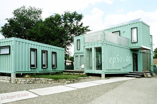 Simple Shipping Container Houses All Epsos