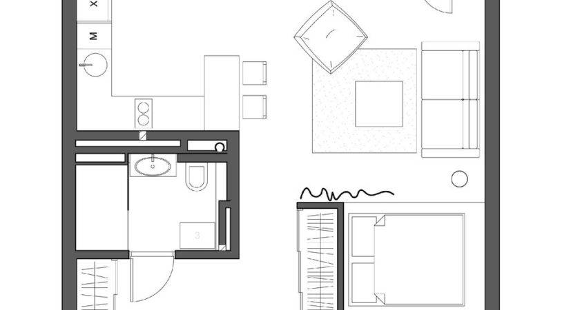 Simple Super Beautiful Studio Apartment Concepts