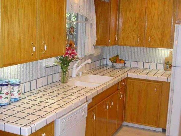Simple Tile Kitchen Countertops Home