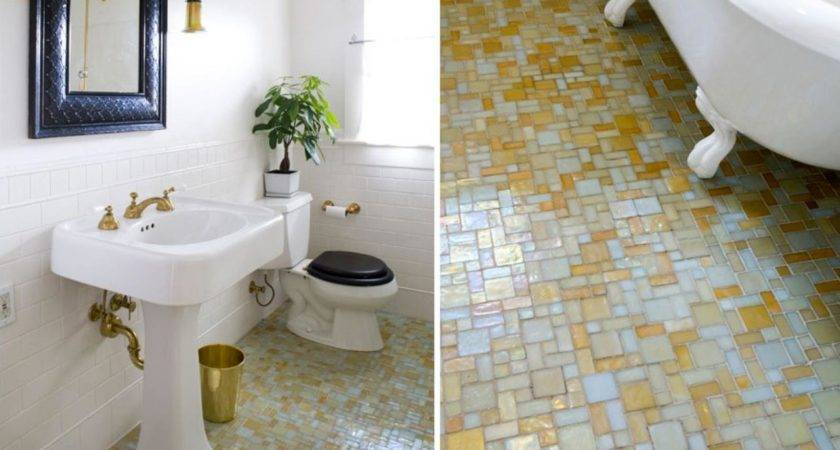 Simply Chic Bathroom Tile Design Ideas