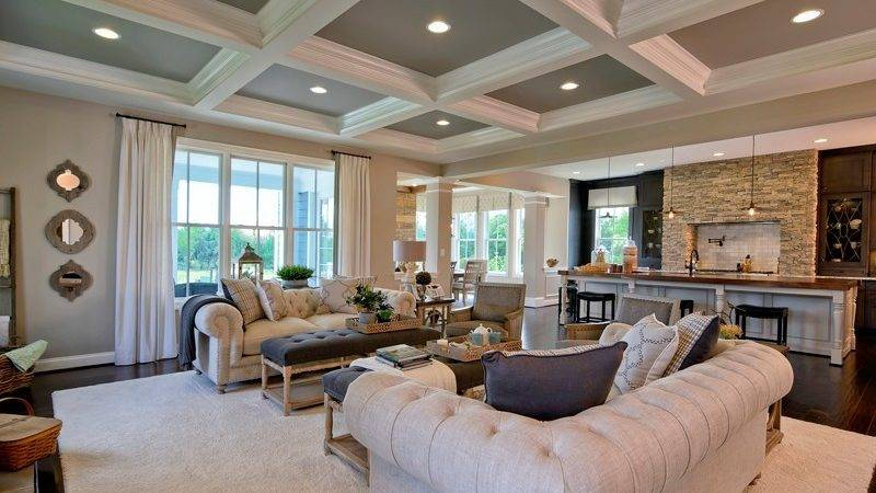 Single Homes Model Home Interiors