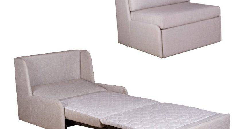 Single Sofa Chair Bed Guest Fold Out