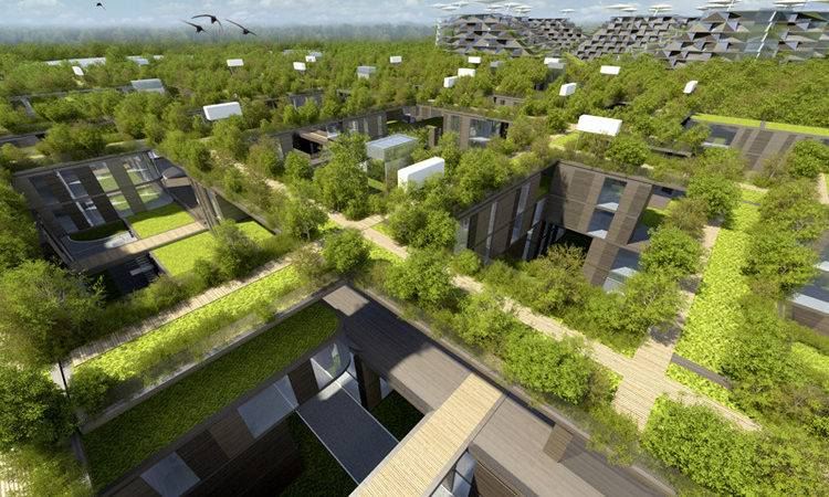 Skolkovo Residential Area Arch Group Archdaily