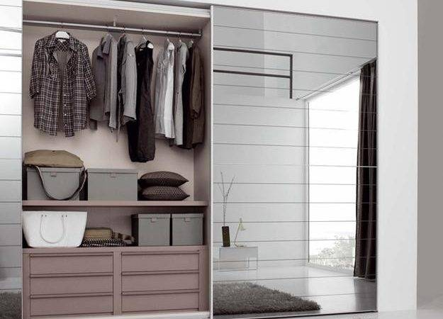 Sliding Closet Doors Hide Storage Spaces Create