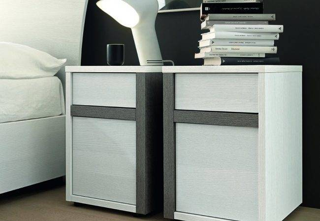 Slim Bedside Tables Micasa