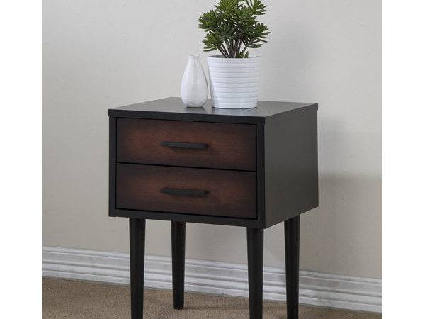 Small Accent Tables Nightstand Drawer Bedside Cheap