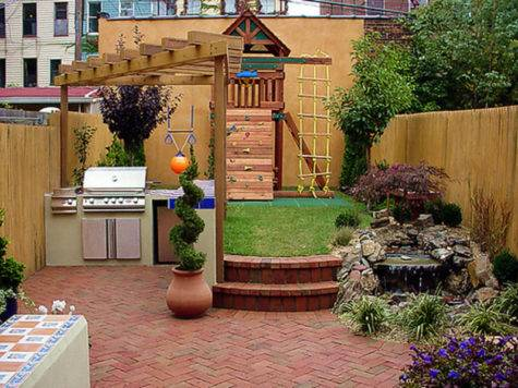 Small Backyard Remodel Design Bookmark