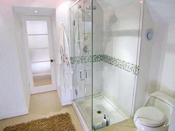 Small Bathroom Designs Walk Shower