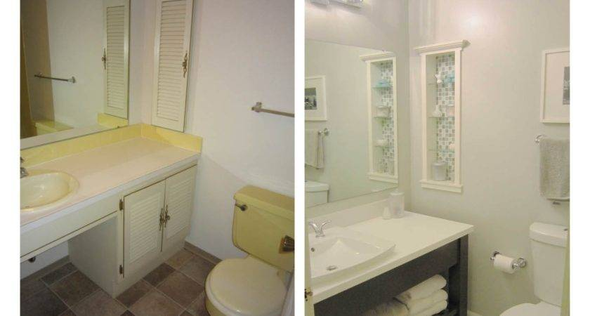 Small Bathroom Remodel Before After