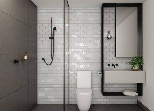 Small Bathroom Remodeling Ideas Reflecting Elegantly