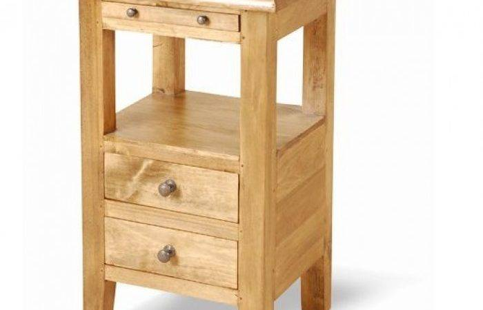 Small Bed Side Table Narrow Bedside Storage