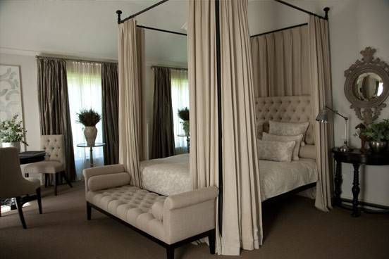 Small Bedroom Decor Simple Canopy Swing Arm