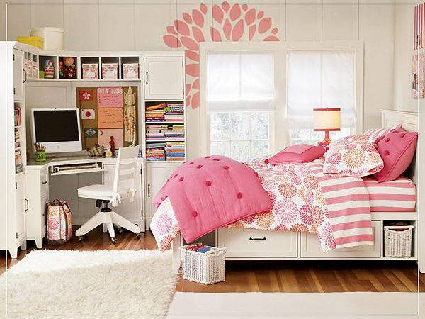 Small Bedroom Design Teenage Girls Modern