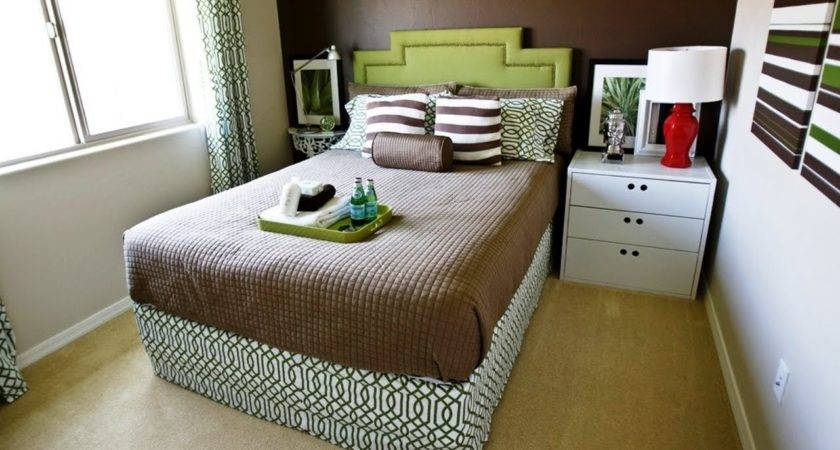 Small Bedroom Double Bed Decorating Ideas Youtube