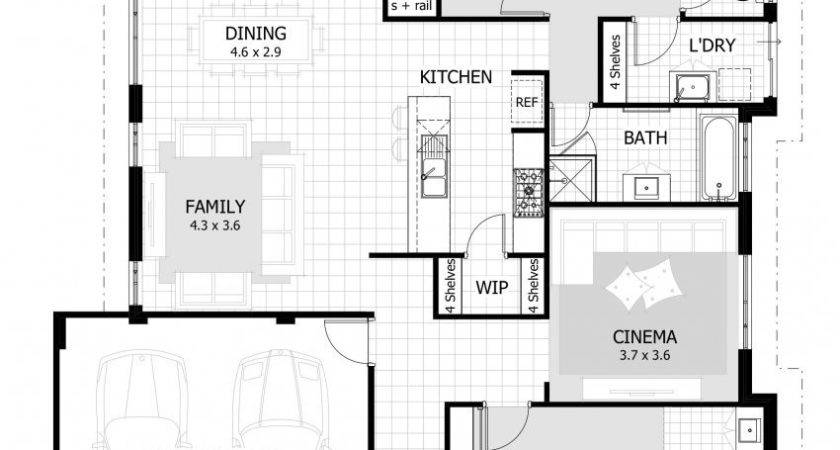 Small Bedroom House Plans