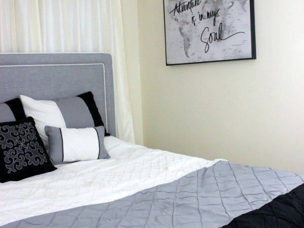 Small Bedroom Makeover Stylish Young Adults Hoosier