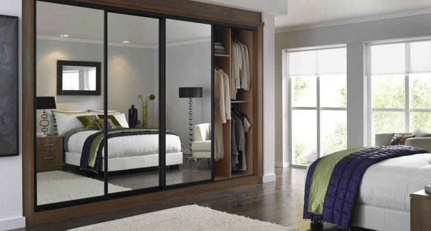 Small Bedroom Mirrored Wardrobes Best