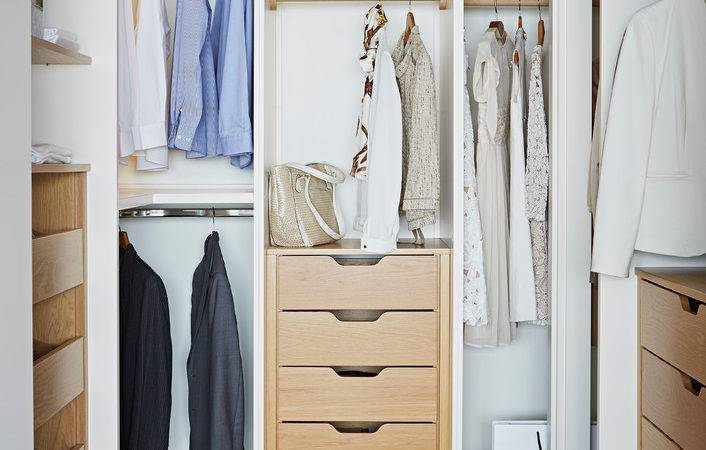 Small Closet Make Tidier Cleaner Decohoms