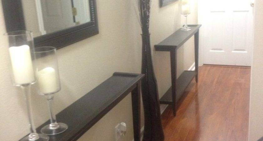 Small Console Table Hallway Perfect Icon Fill