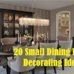 Small Dining Room Decorating Ideas Youtube