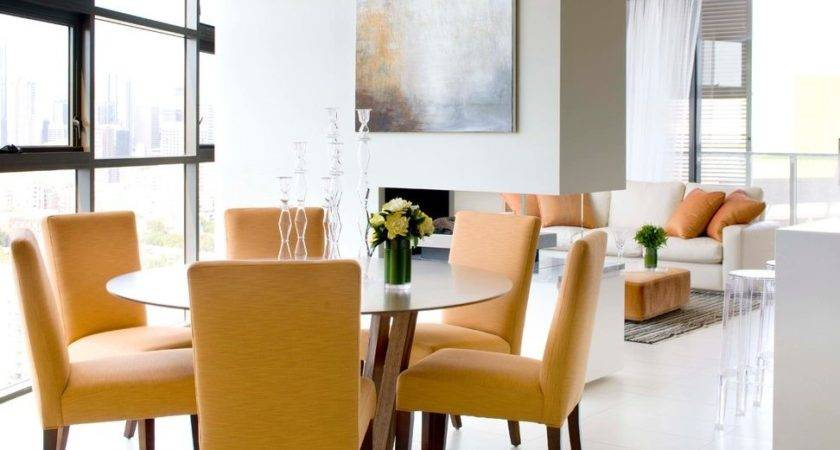 Small Dining Sets Room Eclectic Round