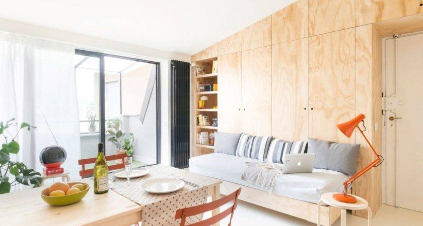 Small Flat Takes Advantage Reduced Space Big Way