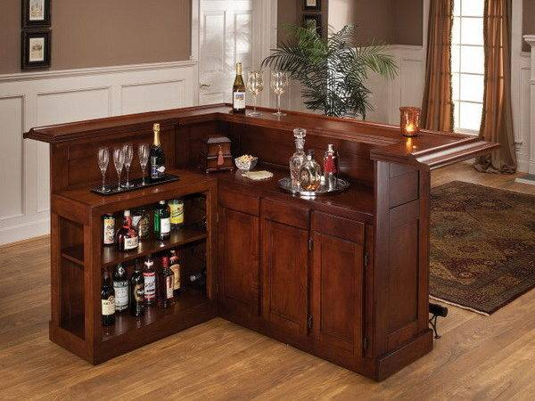 Small Home Bar Decorating Ideas Design