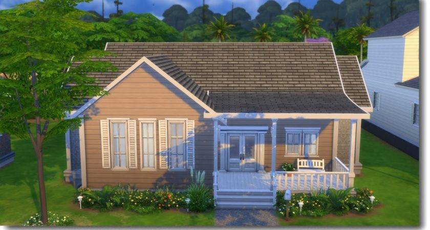 Small Home Sims Speed Build Youtube