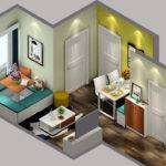 Small House Space Layout Sky
