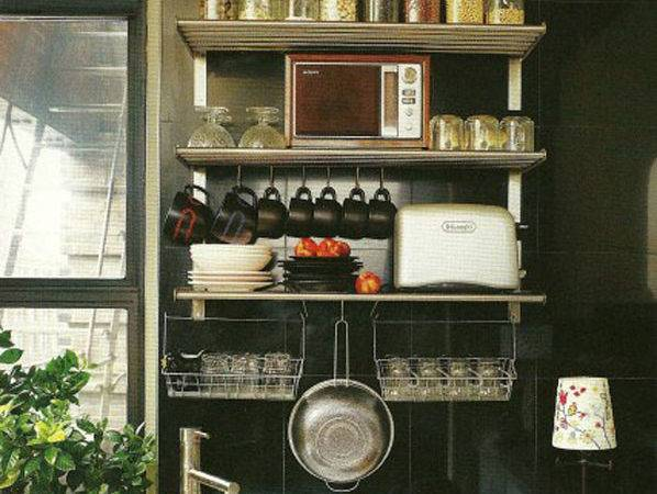 Small Kitchen Storage Ideas Decorating Envy
