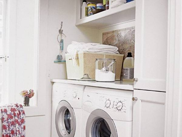 Small Laundri Storage Ideas