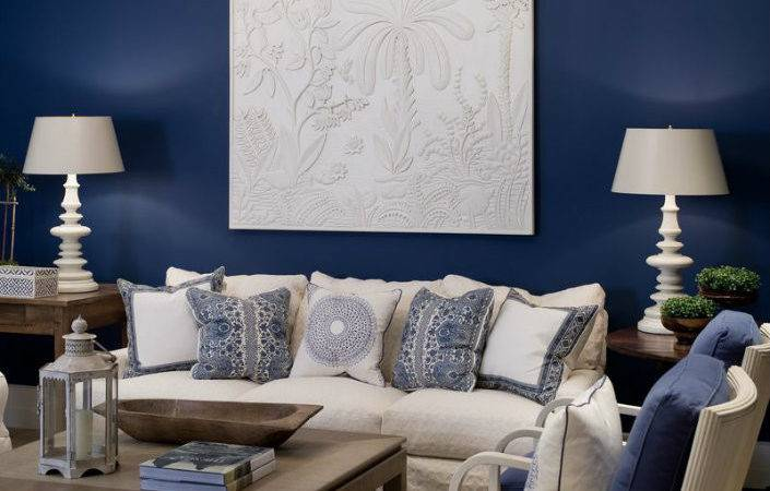 Small Living Room Furniture Sets Navy Blue Accent
