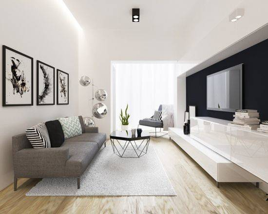 Small Modern Living Room Design Ideas Remodels Photos