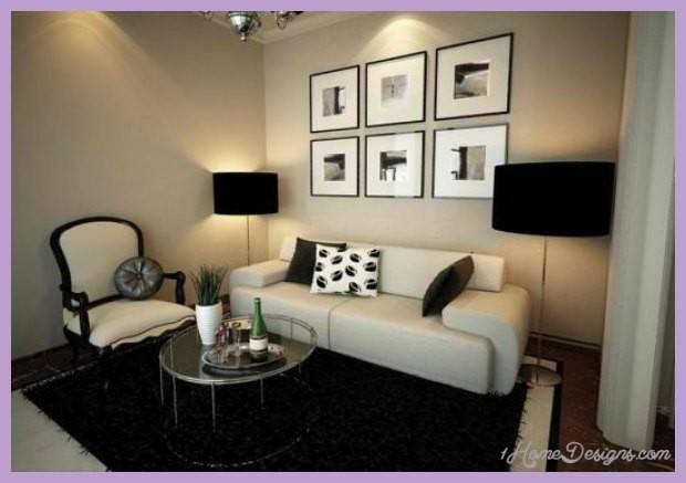 Small Modern Living Rooms Home Design Decorating