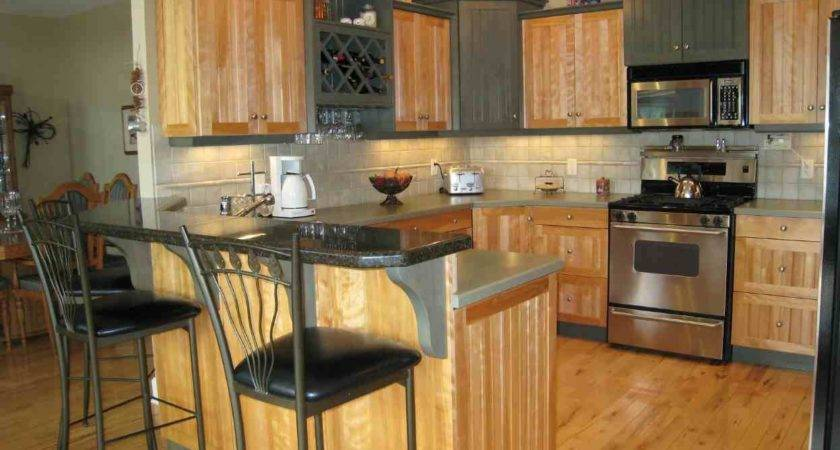 Small Modern Tuscan Style Kitchen Top Decorating