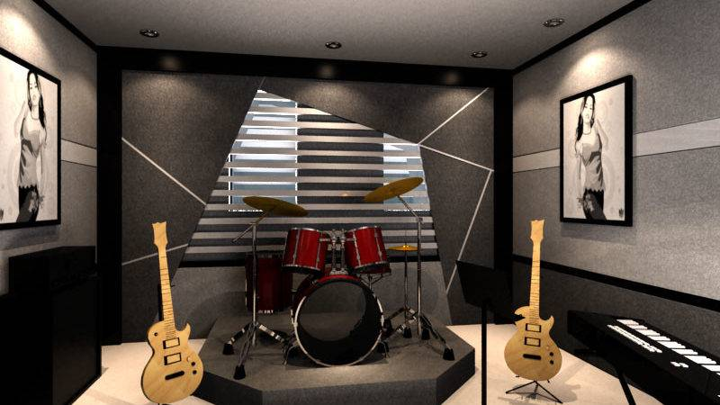 Small Music Studio Design Ideas Joy
