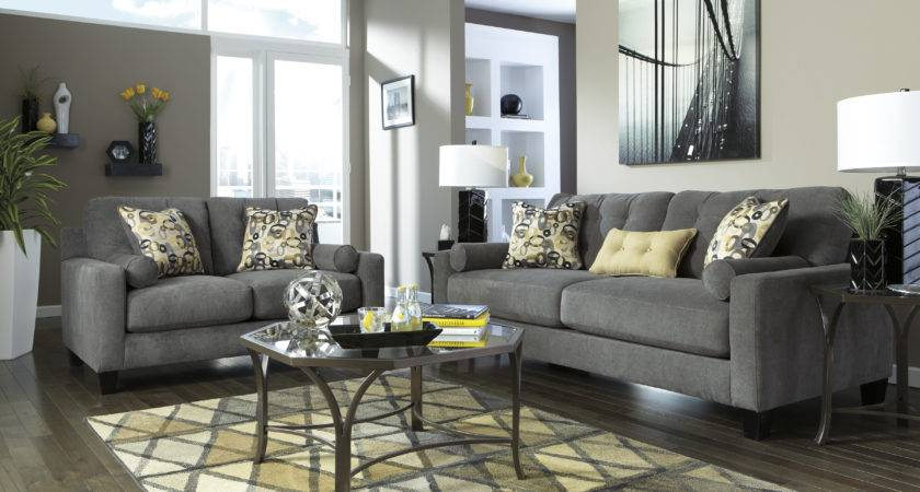 Small Open Living Room Charcoal Couch Ideas Modern Home