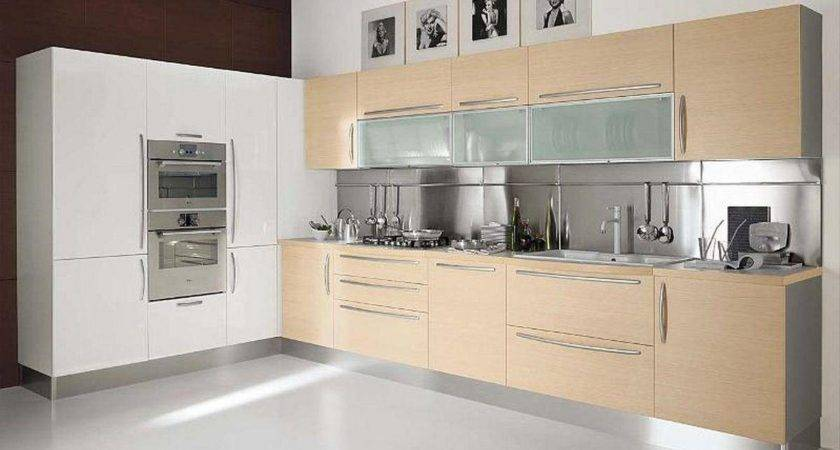 Small Review Kitchen Cabinet Modern Minimalist