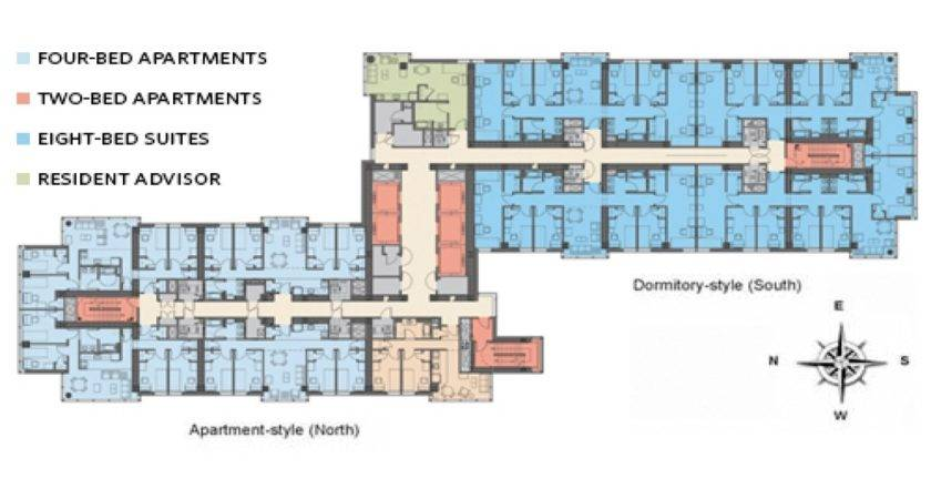 Small Room Layout Boston University Dorm Floor Plans