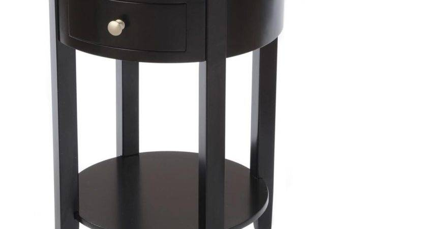 Small Round Bedside Table Tertio Modern